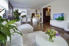 Pohled z obývacího pokoje - dům Klínec