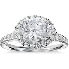This is gorgeous. I love the horizontal oval setting. It is so beautiful and unique