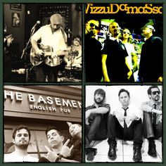 Atrações da semana no The Basement: Big Creek Combo; Vizzudamassa; Vintage Cult; Club Soda;
