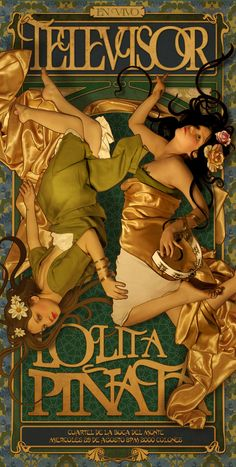 Art Nouveau and Print Designs | The Influence of Art History on Modern Design. Poster by Lolita Pinata