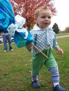 Lollipop Guild Costume - I think I found a winner for Micah this year with me going as Dorothy. :)