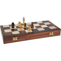 """Passport To India"" Large Wooden Chess Set - TK Maxx"