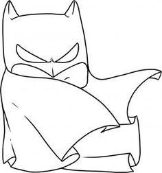how to draw chibi batman step 5