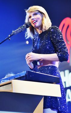Taylor Swift at the KISS FM Jingle Ball ♥ 05.12.14