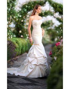 Sirène Traîne moyenne Lacets Robes de mariée 2014
