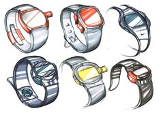 Product Sketches by Sebastian Markovic, via Behance