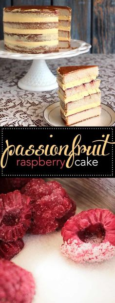 Passionfruit Raspberry Cake recipe. This is the recipe featured on Duff Till Dawn episode 6. One of the best flavor pairings and cake recipes I've ever made. Cake | dessert | raspberry | passion fruit | raspberry cake | baking #cakedecorating #baking #raspberry #cake