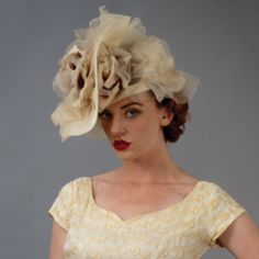 7251WY Whimsy, mink – Louise Green Millinery