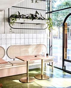 The Stella Collective is an award winning interior design studio based in Melbourne. Our work specialises in hospitality, retail, commercial and residential interior architecture. Design Shop, Café Design, Design Retro, Coffee Shop Design, Store Design, Design Ideas, Roof Design, Design Projects, Restaurant Design