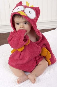 Free shipping and returns on Baby Aspen 'My Little Night Owl' Hooded Robe (Infant) at Nordstrom.com. A snuggly owl robe keeps your little water bug toasty warm with his big wings, flouncy tail feathers and lifelike hood.