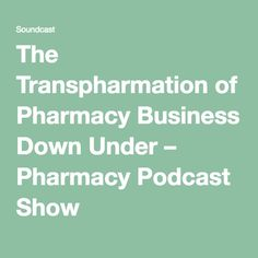 Special Pharmacy Podcast Show Guest, Robert Sztar. Robert Sztar is the founder of Pharmactive and has developed a unique method […] Pharmacy, Business, Apothecary