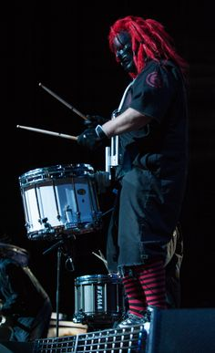 Photo Gallery : Slipknot @ Hollywood Casino Amphitheatre - In The Loop Magazine Nu Metal, Heavy Metal Rock, Heavy Metal Bands, Chris Fehn, Paul Gray, Corey Taylor, Iowa, Taylor Stone, Slipknot Band