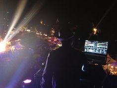 DJ On the rooooof