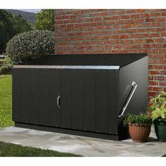 Trimetals Fahrradbox, Gerätebox, Aufbewahrungsbox Storeguard Anthr. - mygardenhome.de c/o Clemens HobbyTec GmbH