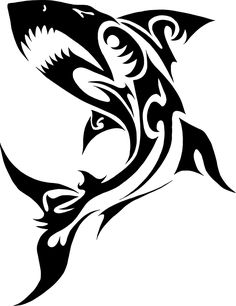 Maori Shark Framed Art Print by Kimberly Candel Art - Vector Black - Shark Silhouette, Silhouette Tattoos, Dragon Henna, Tribal Shark Tattoos, Hammerhead Shark Tattoo, Transférer Des Photos, Beach Canvas Art, Anchor Tattoo Design, Hawaiian Tattoo