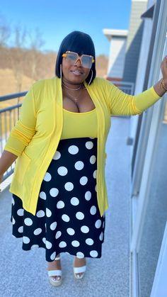 Curvy Women Outfits, Curvy Women Fashion, Diva Fashion, Skirt Fashion, Plus Size Outfits, Plus Size Fashion, Fashion Looks, Cute Fall Outfits, Chic Outfits