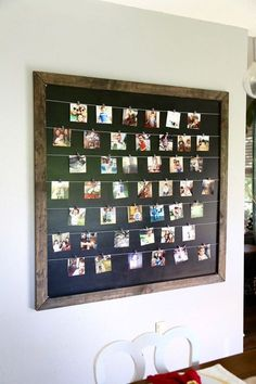 Gorgeous, simple, and easy DIY photo display Diy Home Decor Rustic, Homemade Home Decor, Homemade Gifts, Decor Diy, Diy Photo, Photo Ideas, Diy Simple, Easy Diy, Cadre Diy