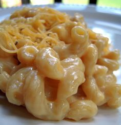 One Pot Mac & Cheese - everything cooks in the same pot - even the pasta!! Tastes great and is ready in under 30 minutes!