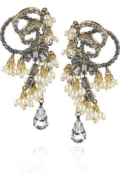Statement Earrings by Erickson Beamon