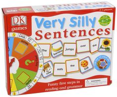 Amazon.com: Very Silly Sentences: Dorling Kindersley Inc. (COR): Toys & Games