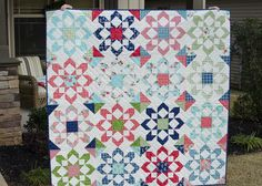 Hyacinth Quilt Designs: Final finishes and pattern winner!