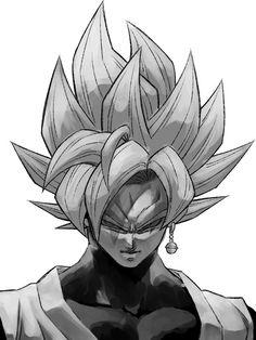 Dragon Ball Z, Dragon Ball Image, Goku Pics, Goku Drawing, Art Reference Poses, Character Art, Artwork, Black Goku, Goku Manga