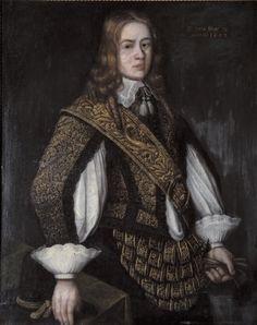 Porträtt föreställande Nils Nilsson Brahe, daterat 1650