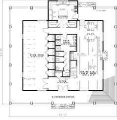 House Plans Bunkhouse And House On Pinterest