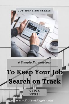 Are you starting a hunt for a new job? Then set yourself some basic parameters to make your life easier! From trawling job-search engines to sorting out offers, these six parameters will give you firm guidance in your job search. Not only does this post walk you through each item, but subscribers also receive a free worksheet set to help plan their search! Happy hunting! Dotted Page, Job Search, New Job, Sorting, Search Engine, Advice, How To Plan, Happy, Free