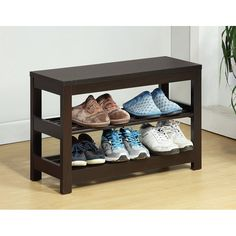 Look what I found on Wayfair - Contemporary Shoe Rack by Sintechno CAD $179.99