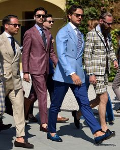 You talkin to me? Mr Maro and his gang at Pitti Uomo