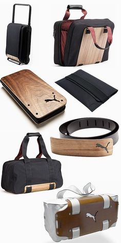 Puma Urban Mobility - a fine timber grain introduced into bag design. Gene  Bills · Men s Puma Sportswear df849dd4b2399