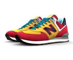 Today you can design a NB1 574 that's a one-of-a-kind look to match your personal style. The 574 silhouette is the epitome of classic New Balance design – and you can make it completely yours with unique colors, materials and signature details. So start a new trend or go against the grain - you know what you want, and we know how to craft it right.