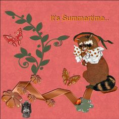 Hi Jemima. here is my page - It's Summertime , made by your loving bonus gift…