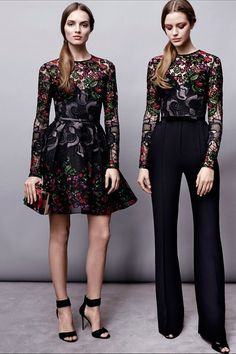 Catwalk photos and all the looks from Elie Saab - Pre Autumn/Winter 2015-16 Ready-To-Wear New York Fashion Week