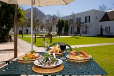 Erinvale Estate Hotel and Spa is located in Somerset West overlooking the Helderberg Mountains. The perfect place for a wedding or romantic weekend