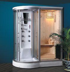 Combination Steam Shower Sauna