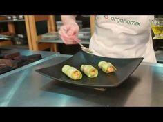 Receitas Organomix - Episódio 3 - Sushi (sem peixe) de Abobrinha - YouTube
