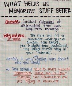 It seems obvious, but the best way to improve your memory is by trying to remember things. The more you try to recall information (using notes only to double-check yourself), the more information you'll be able to recall.