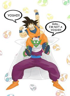 Yoshi Piccolo! - DBZ / DBZ Abridged by Team Fourstar