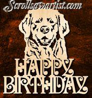 Happy birthday Golden Retriever