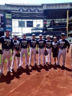 """The #Brewers Bullpen shows their support for K-Rod by sporting his """"My All-Star"""" shirt. Click to find out how you can get yours!"""