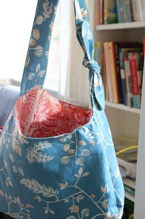 Reversible Hobo Bag Tutorial and Free Pattern | Share Your Craft ...