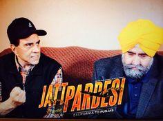 Legendary actor #DharmendraJi and #JaspreetSinghAttorney at law in movie scene in upcoming Punjabi movie #JattPardesi. Releasing soon