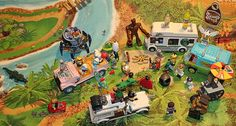 Here are folks from all over the known universe kicking back and enjoying a ol good time we see folks such as #thejetsons #groot #martianmanhunter #drstrange #minions #r2d2 #walle #ozobot #hexbug #robots #gator #smurfs even #bartsimpson joined in having some wholesome fun #minifigures #lego #megablok #disney #pixar
