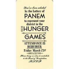 hunger games does exist