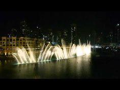 The Fountains Dubai Celine Dion Andrea Bocelli The Prayer