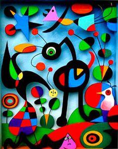 Bri-coco de Lolo: À la manière de Joan Miro