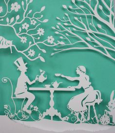 Alice in Wonderland – The Mad hatter's tea party