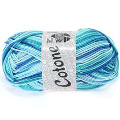 COTONE print 312-mint / turquoise / azure | EAN: 4033493150651
